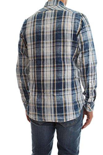 G-STAR RAW Herren Freizeithemd 3301 Shirt L/S Milk