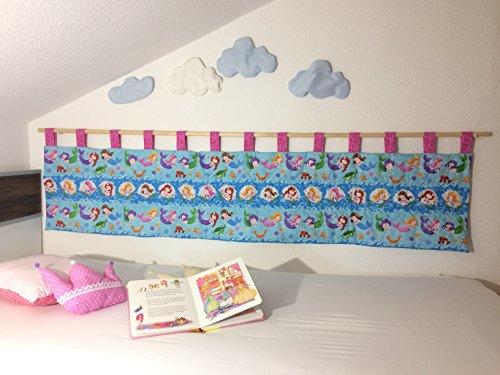 Wandschutz für das Kinderbett Gross (Meerjungfrau)