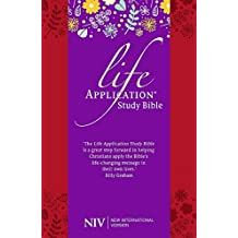 NIV Life Application Study Bible (Anglicised): Soft-tone (New International Version)