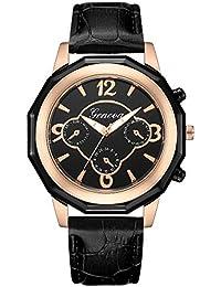 DRKJ Reloj De Hombre, Reloj De Negocios Informal De Malla De Acero con Reloj De