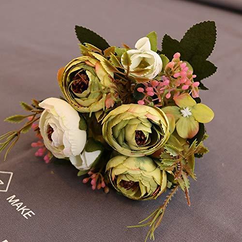 Blumen, Diamanttee, Tee, Rose, Fabrik, Großhandel, dekorative Blume, Blume, Foto, Fotografie, Requisiten, gefälschte Blumen, grüner Frühlingstee, einzeln ()