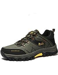963b8834223 VILOCY Hombre Senderismo Pelaje Forrado Nieve Botas Impermeable Deporte  Zapatilla Zapatos