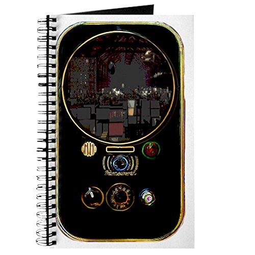 CafePress-Farnsworth Communicator-Spiralbindung Journal Notebook, persönliches Tagebuch, Aufgabe Tagebuch -