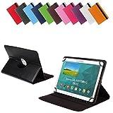 BRALEXX Universal Tablet PC Tasche passend für Gigaset QV1030 Black, 10 Zoll, Schwarz