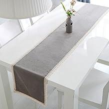 Runner da tavolo moderno grigio - Runner da tavolo ...