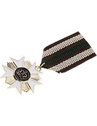 Sowjetunion Russland Abzeichen Medaille Star Crown Uniform Kostüm Brosche