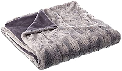Manta de sofá nórdica gris de poliéster para salón Vitta - Lola Derek
