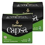 Dallmayr Capsa Espresso Indian Sundara, Nespresso Kapsel, Kaffeekapsel, Espressokapsel, Röstkaffee, 20 Kapseln