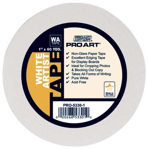 Pro-Art Artist Tape, weiß, 3/4-Inch by 60-Yard (Canvas-tape)
