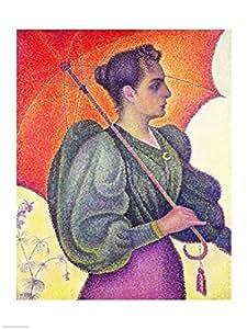 Paul Signac – Femme à l'ombrelle 1893 Impression d'art Print (45,72 x 60,96 cm)