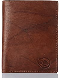 Ruge Antique Brown Leather notecase