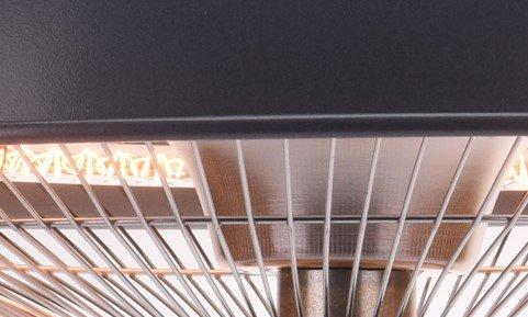 Terrassenheizung hängend, Heizstrahler für Deckenmontage 1500 Watt - 6