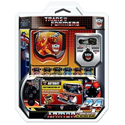Core Gamer Autobots Transformers Protection Kit (PSP)