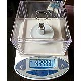 1000x 0,01G báscula Digital 10mg Analytical Balance Escala para joyería de laboratorio
