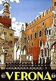 Generic Verona Vintage Reisen Fotodruck Poster Stadt