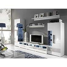 buffet blanc laque brillant. Black Bedroom Furniture Sets. Home Design Ideas