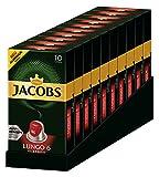 Jacobs Lungo 6 Classico, Kaffeekapseln, Nespresso Kompatibel, Kaffee, 100 Kapseln, á 5.2 g