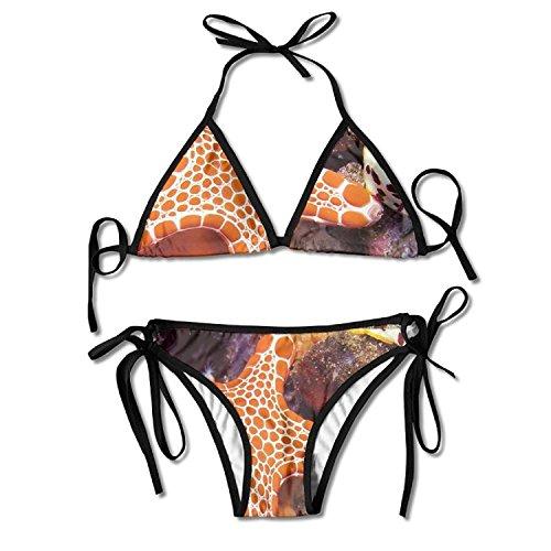 24a118631333 Sexy Push Up Unpadded Bikini Set Women Leopard Seashell Adjustable Swimsuit  Beach Suit Bathing Suits
