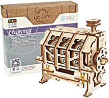 UGEARS STEM Lab 3D Puzzels - Speelset STEM - 3D-Houtbouwset - DIY Mechanical Science Kit - STEM Wetenschappelijk...
