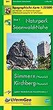 Naturpark Soonwald-Nahe: Simmmern (Hunsrück) /Kirchberg (Hunsrück) (WR): Naturparkkarte 1:25000 mit Wander- und Radwanderwegen mit Soonwald-Steig (Freizeitkarten Rheinland-Pfalz 1:15000 /1:25000) - Landesamt für Vermessung und Geobasisinformation Rheinland-Pfalz