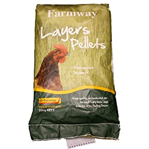 Farmway Layers Pellets 20kg Chicken Feed by Farmway