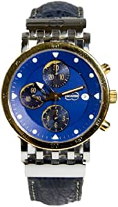 Orologio UNOAERRE Megachron XMC-784 con cronografo decorato a oro