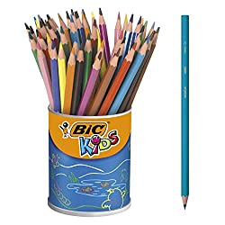BIC Kids Buntstifte Farbstifte Dreikantbuntstift Kids Evolution Tropicolors2