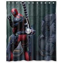 Hulk Deadpool Customized Waterproof Shower Curtain [cortina de ducha] Bathroom Curtains 36x72 inches [XKOWDEF2029]