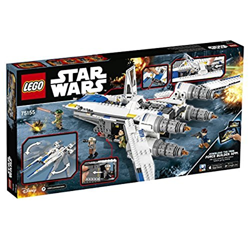 LEGO Star Wars 75155 - Rebel U-Wing Fighter Spielzeug Lego Star Wars Flugzeuge