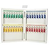 Armadietto portachiavi-Steel Key Storage Locker-parete box portachiavi per 32chiavi, comprende 32etichette per chiavi, 26x 38,1x 5,1cm