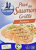 Petit Navire de Saumon grillé L'Étui 120 g - Lot de 5