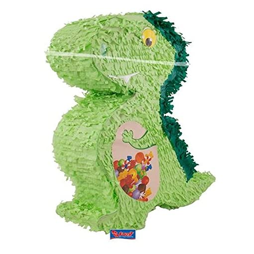 Topfschlagen-aus-Amerika-Pinata-DINO-wird-mit-Sssigkeiten-oder-Spielen-gefllt-ca12-x-42-x-56-cm-Piata-Mexiko-Dinosaurier-Drache-Kinder-Geburtstag-Kindergeburtstag-Spiele-Spass-Geschenke