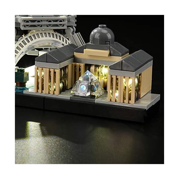 LIGHTAILING Set di Luci per (Architecture Parigi) Modello da Costruire - Kit Luce LED Compatibile con Lego 21044 (Non… 4 spesavip