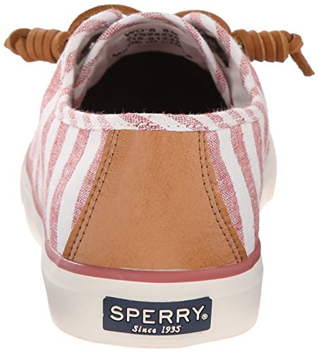 Sperry Seacoast Multi Strpe Brck, Scarpe da Ginnastica Donna Marrone