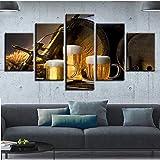 Le produit contient un cadre en bois qui peut être suspendu directement. Les bords de chaque toile sont enduits et recouverts d'un film plastique transparent pour protéger les peintures murales. La toile est enveloppée et tendue dans un cadre en bois...