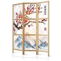 Natural 180//N4 Fine Asianliving Japanese Room Divider Shoji Traditional Rice-paper 4 Panel