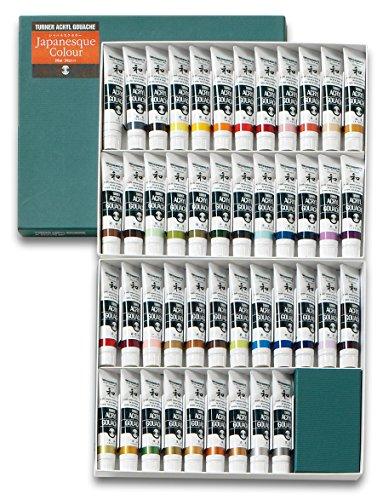 Turner Acrylic Gouache 20ml Japanesque 45 color set (japan import)