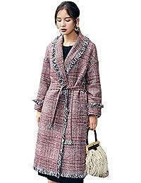 Giacca Tassels Outerwear A Blu Vintage color Casuale Cappotto Cardigan Manica Corto Donna Maglia S Eleganti Sciolto Lunga Con Primaverile Autunno Fashion Size Grazioso pxxdUfqr8w