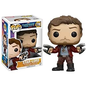 Funko - Star Lord figura de vinilo, colección de POP, seria Guardians of the Galaxy 2 (12784), 1 unidad, modelo surtido 8