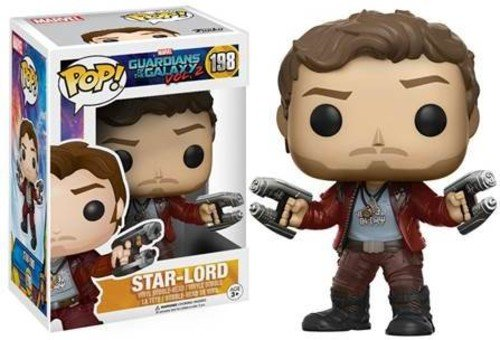 Funko - Star Lord figura de vinilo, colección de POP, seria Guardians of the Galaxy 2 (12784), 1 unidad, modelo surtido 1