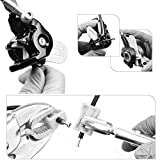 RUNACC Bike Scheibenbremsöl-Set Profi-Fahrrad Hydraulisches Scheibenbrems-Set Praktisches Fahrradbrems-Entlüftungskit mit Aufbewahrungsbox für SHIMANO und TEKTRO