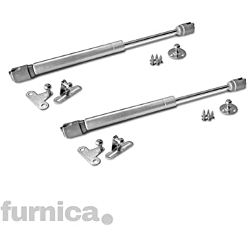 450 N 2 Gasdruckfedern Gasdruckd/ämpfer Klappenbeschlag Kompressionsfeder T/ürd/ämpfer