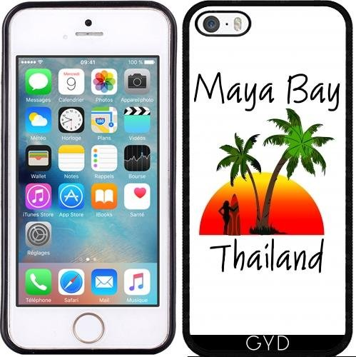 Coque pour Iphone SE - Maya Bay Thaïlande by loki1982 Silicone
