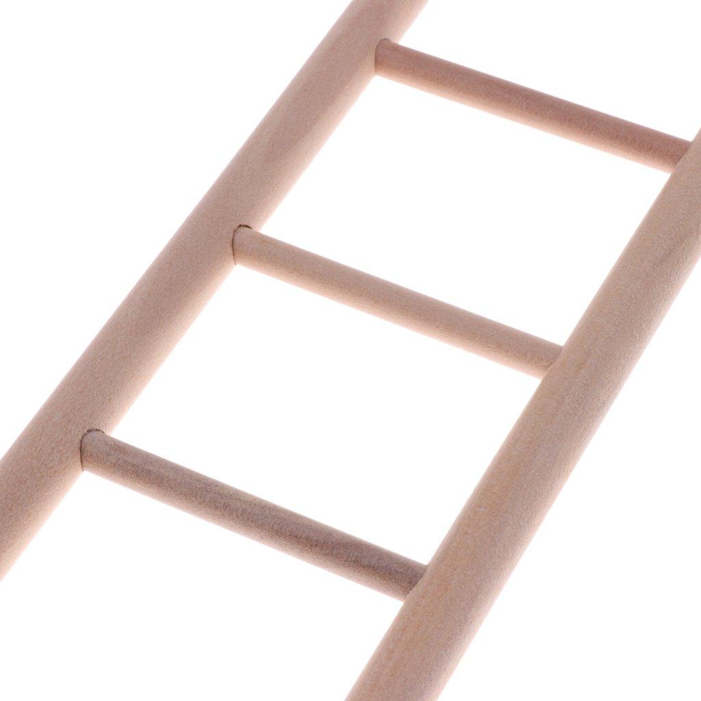 Blesiya Giocattoli in Legno A Forma di Scaletta Gabbia per Gatti 8-Scale
