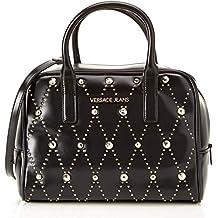 Versace Jeans Ee1vsbbe5, Sacs portés épaule femme, Noir (Nero), 15x21x29 cm c25c56f416f