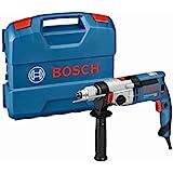 Bosch Professional GSB 24-2 - Taladro percutor (1100 W, 2 velocidades, 3000 rpm, Ø max perforación hormigón 22 mm, en maletín