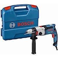 Bosch Professional 060119C801 Schlagbohrmaschine GSB 24-2 (1.100 Watt, max. Drehmoment: 40/14.5 Nm, in L-Case), 1100 W…