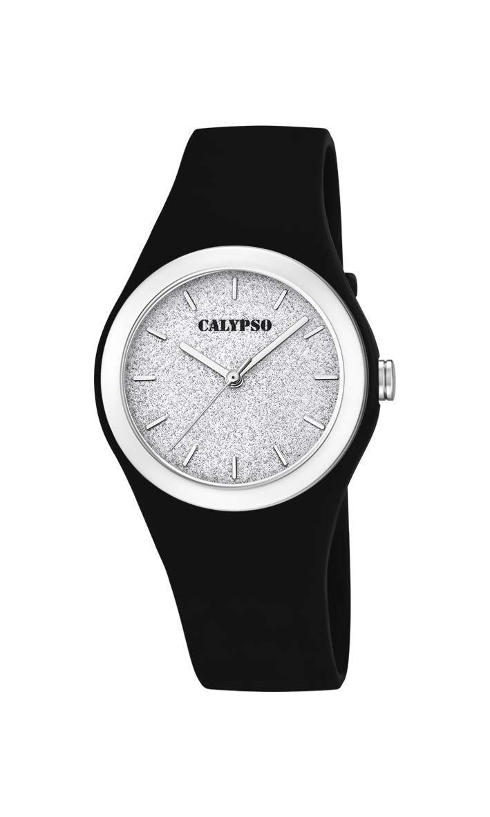 Calypso Watches Reloj Analógico para Mujer de Cuarzo con Correa en Plástico K5754/6