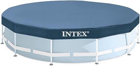 Intex Telo di copertura per piscine fuoriterra rotonde