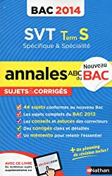 ANNALES BAC 2014 SVT TS SPE +
